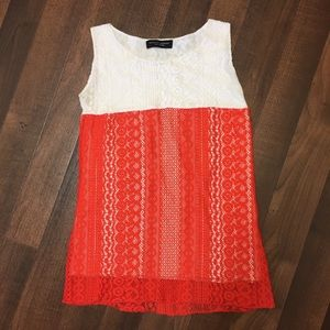 Dorothy Perkins Crochet Tank